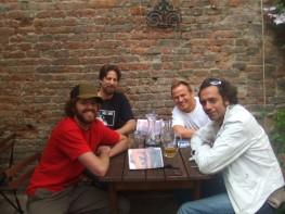 Afternoon beers w Madrid De Los Austrias